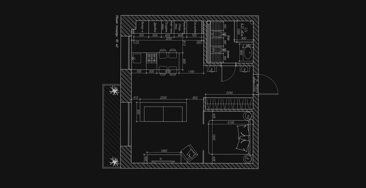 Составление подробного плана квартиры